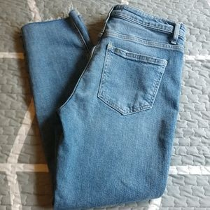 FREE PEOPLE Size 28 Regular wash jeans